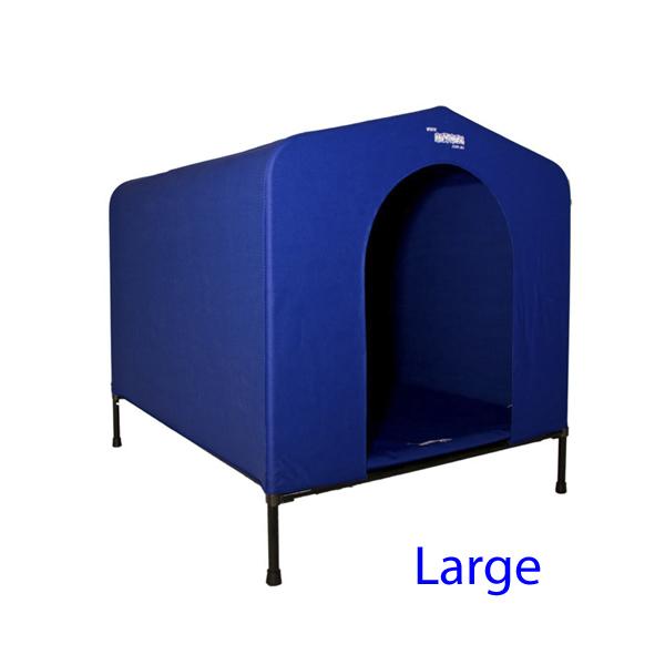 Hound House Large BLUE