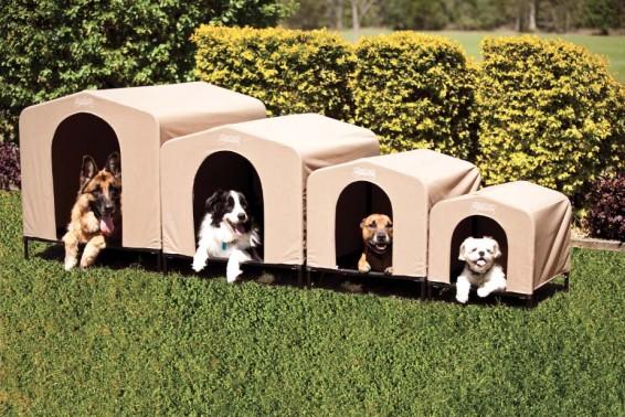 DogDen Dog Kennels Beige