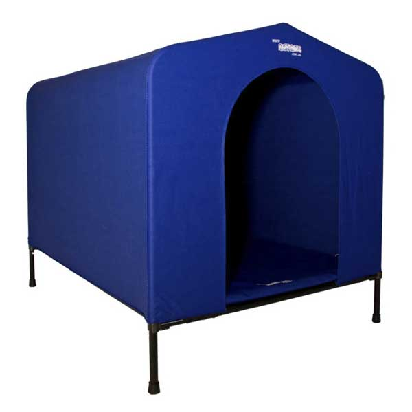 HoundHouse Blue Kennel Large