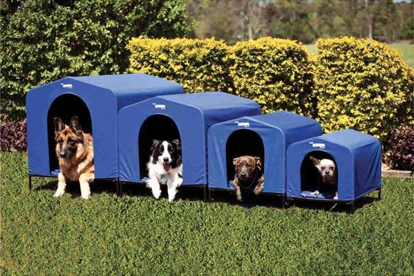 HoundHouse Blue Kennels