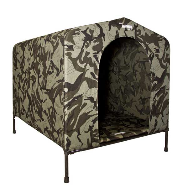 HoundHouse Camo Kennel Large