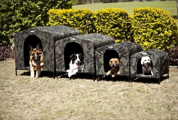 HoundHouse Camo Kennels